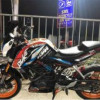 2015 2nd ktm duke 200 motor condition 95% new with paid
